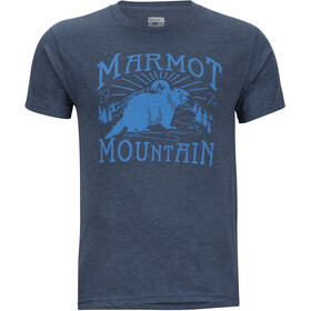 Marmot M's Sunrise SS Tee Navy Heather